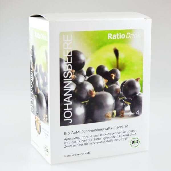 Bio-Apfel-Johannisbeersaftkonzentrat